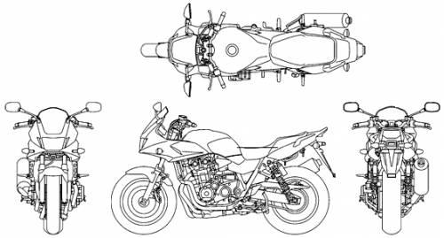 Honda CB 1300 Super Bol D'Or (2013)