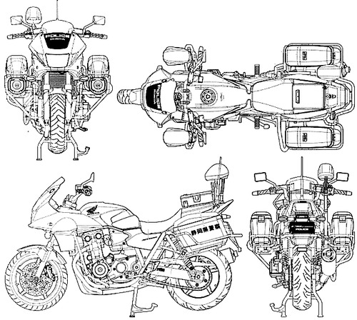 Honda CB 1300P