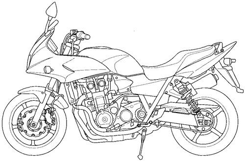 Honda CB 1300S (2009)