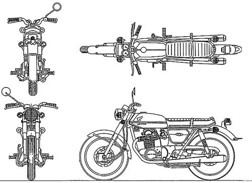 Honda CB 175RR (1972)