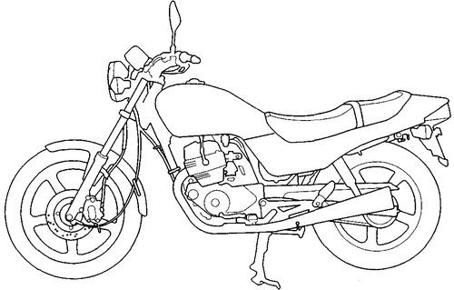 Honda CB 250 (1992)