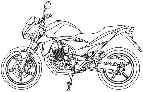 Honda CB 300R (2015)