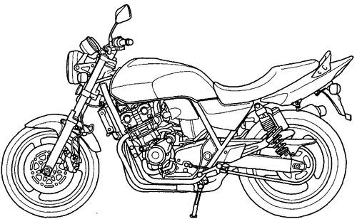 Honda CB 400 (2008)