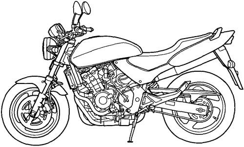 Honda CB 600F Hornet (1995)