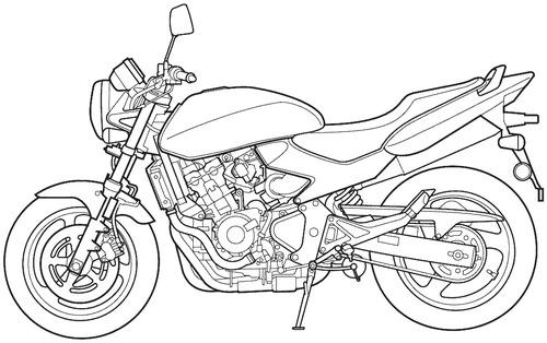 Honda CB 600F Hornet (2004)