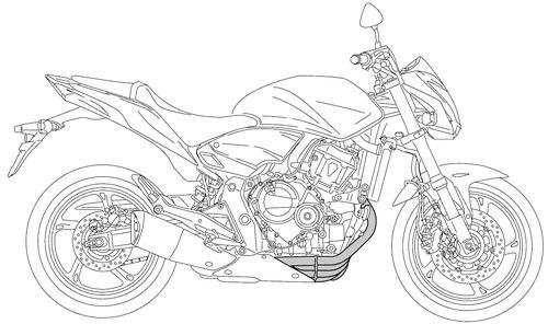 Honda CB 600F Hornet (2014)