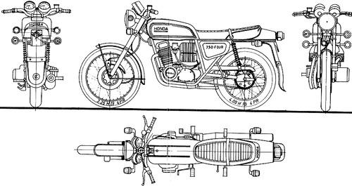 Honda CB 750 F (1975)