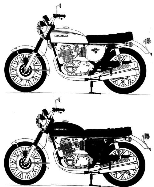 Honda CB 750 Four (1969)