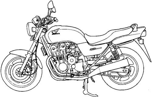 Honda CB 750F2 (1995)