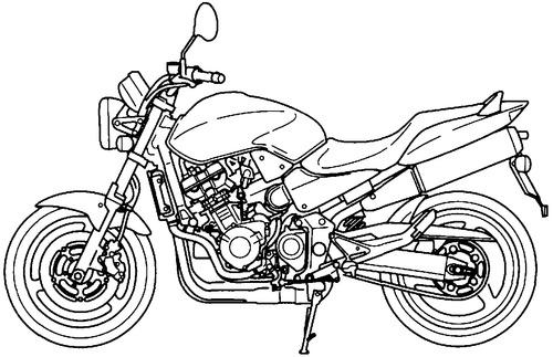 Honda CB 900F (2001)