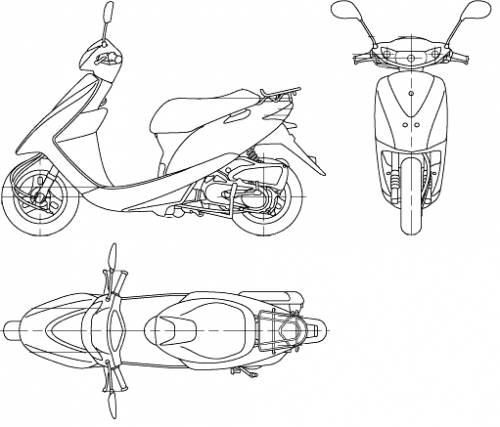 Honda Dio (2006)