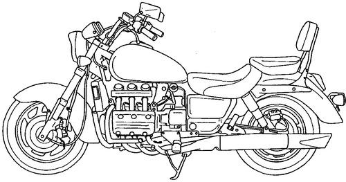 Honda Valkyrie GL1500C (1996)
