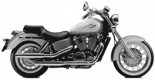 Honda VT1100C2 ShadowAce (1998)