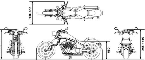 Honda VT1300CX (2015)