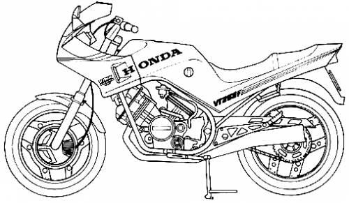 Honda VT250F (1984)