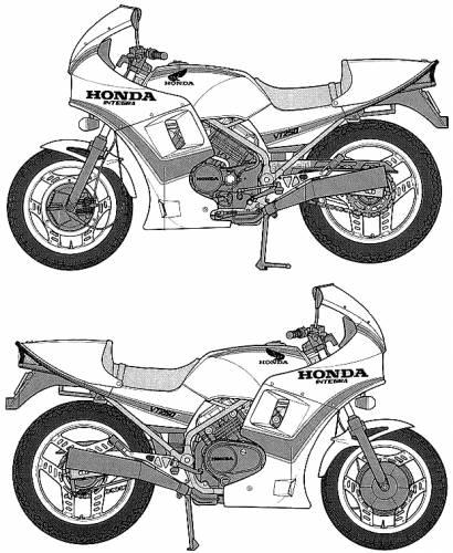 Honda VT250F Integra (1982)