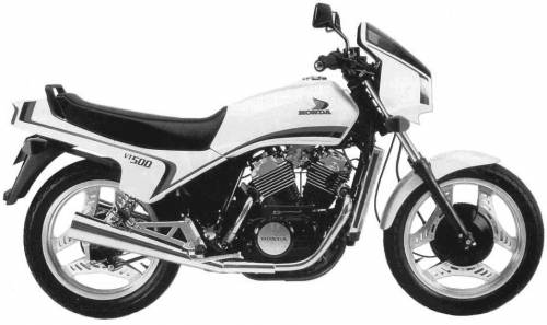 Honda VT500E (1983)