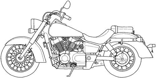 Honda VT 400C (2008)