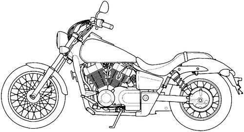 Honda VT 750C2 (2008)