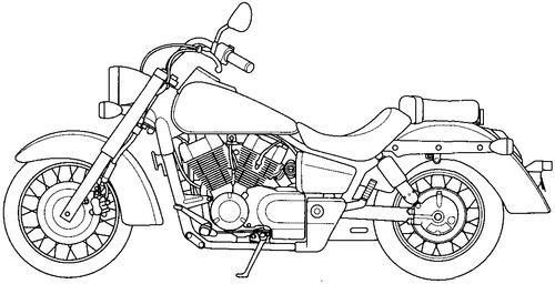 Honda VT 750C (2003)