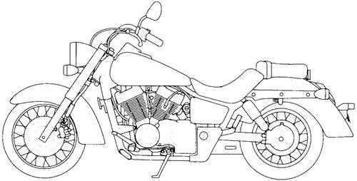 Honda VT 750C (2005)