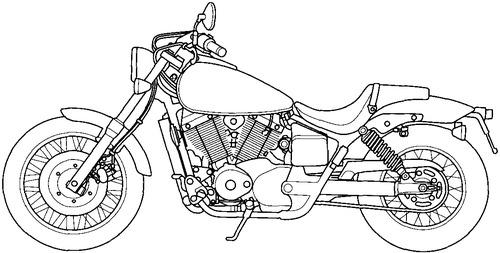 Honda VT 750DC (2000)