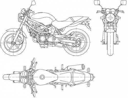 Honda VTR (2006)