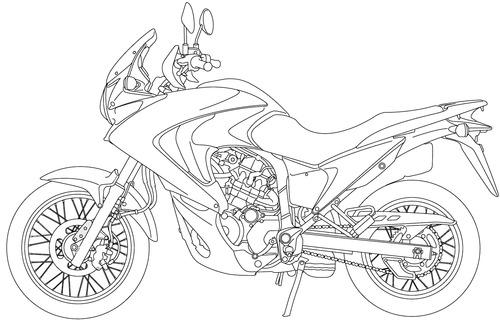 Honda XL700V Transalp (2014)
