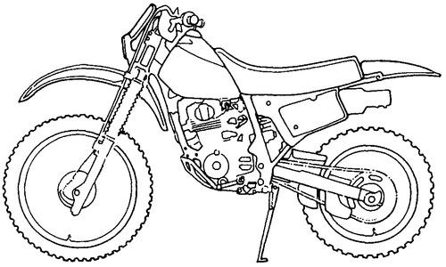 Honda XR 200R (1989)