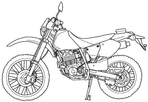 Honda XR 250R (2000)