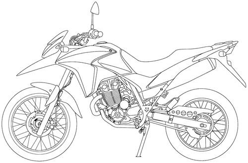 Honda XRE 300 (2015)