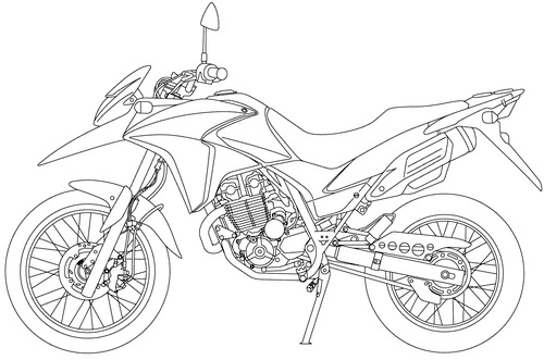 Honda XRE 300A (2015)