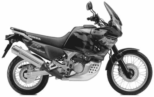 Honda XRV750 AfricaTwin (1998)