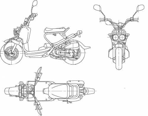 Honda Zoomer (2006)