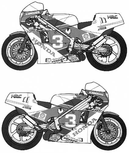 NSR500 Honda