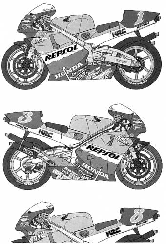 Repsol Honda NSR 500 (1999)