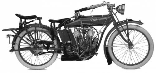Indian V twin (1914)