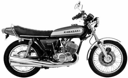 Kawasaki 500 MachIII (1974)