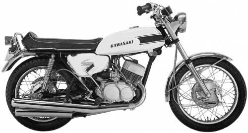 Kawasaki 500H1 (1969)