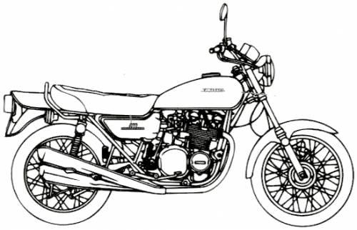 Kawasaki 750RS Z2 Moriwaki (1975)
