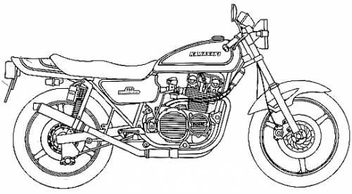 Kawasaki 750RS Z II Custom