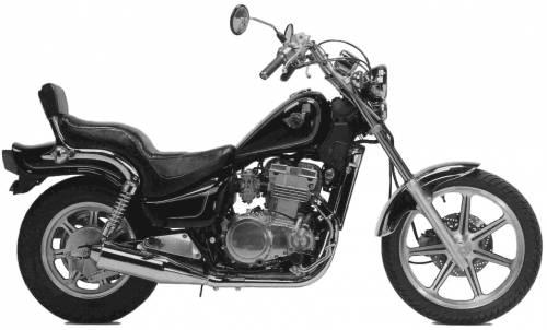 Kawasaki EN500 (1990)
