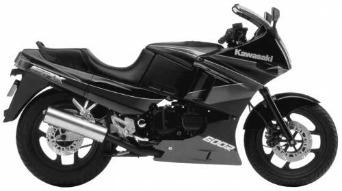 Kawasaki GPX600R (1995)