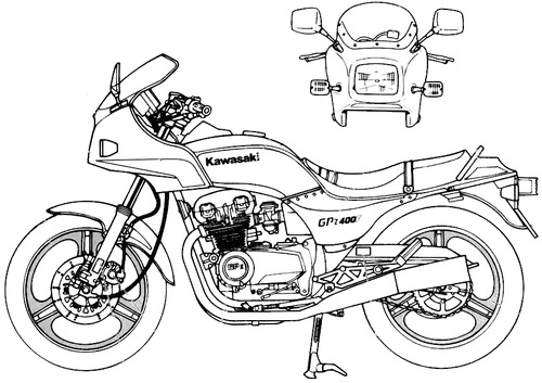 Kawasaki GPz400F (1984)