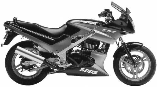 Kawasaki GPZ500S (1991)