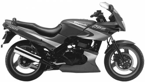 Kawasaki GPZ500S (1996)