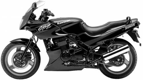 Kawasaki GPZ500S (2001)