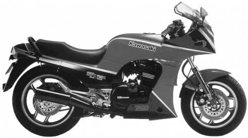 Kawasaki GPZ750R (1985)