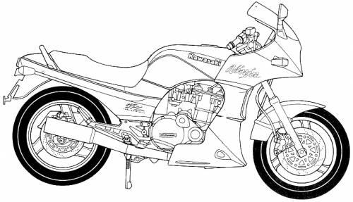 Kawasaki GPZ900 Ninja A9