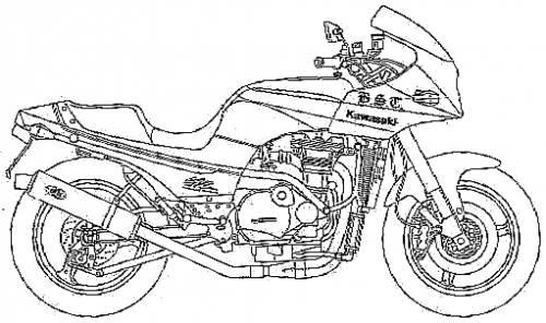 Kawasaki GPZ900R Chosuke Custom